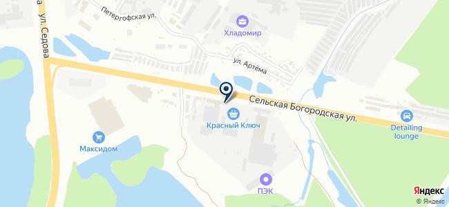 ТЭК-Регион, ООО на карте