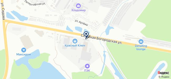 Автоскан, ООО на карте