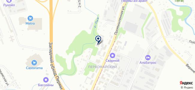 Автоматика, ЗАО на карте