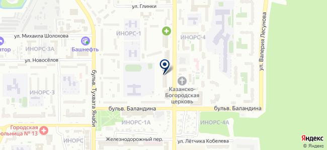 Уфаэнерго-центр, ООО на карте