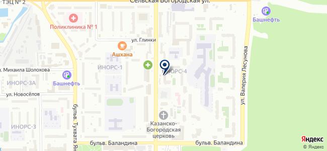 ЭлектроСити, ООО на карте