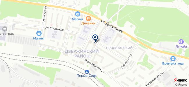 Этис на карте