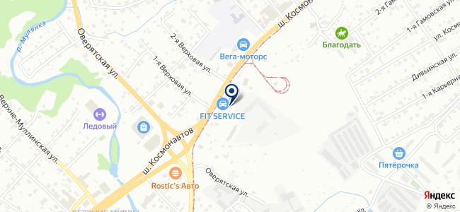 KYB Центр Пермь на карте