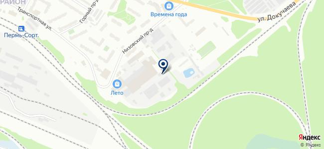 Промстройпроект на карте