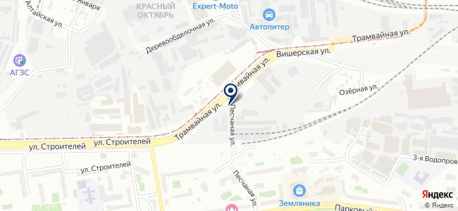 КрепежСити на карте