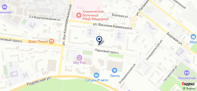 Крайэнергострой на карте