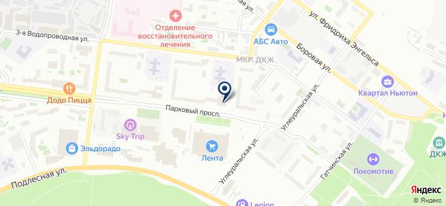 Информационные технологии и системы связи, ООО на карте