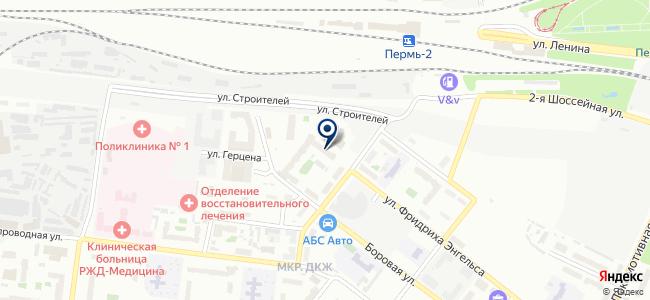 Орлеан на карте