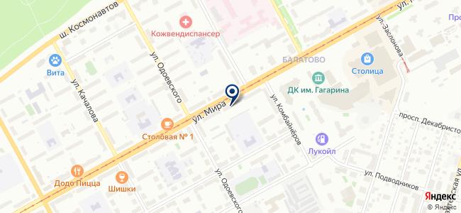 Сеть магазинов бытовой техники и электротоваров на карте