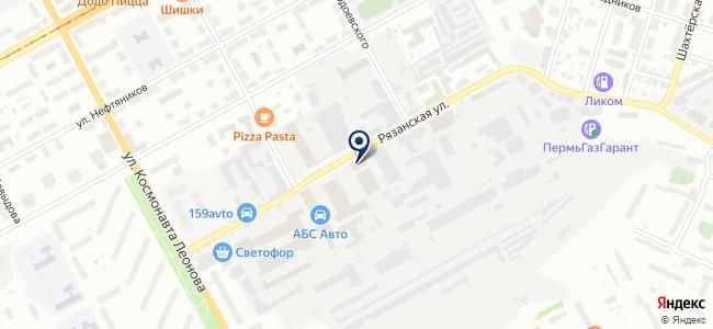 Трикон-ПМ на карте