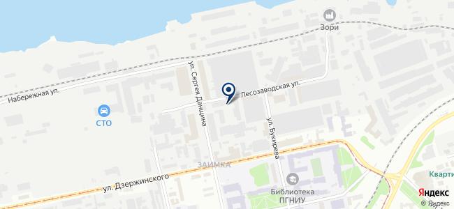 Конто на карте