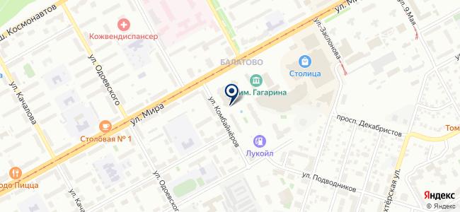 АДЛ на карте