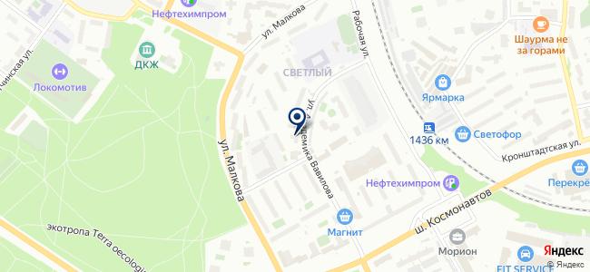 Пермская Интернет Компания, ООО на карте