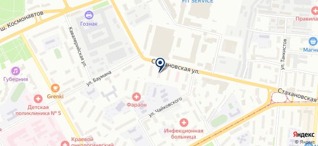 Электроизмерительная лаборатория на карте