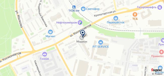 Пассажирское автотранспортное предприятие на карте