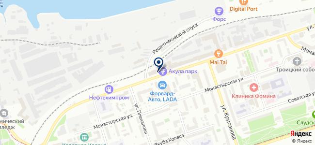 СтандартБетонРесурс-Парма на карте