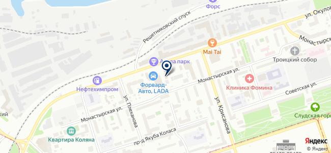 Хоффманн, ЗАО на карте