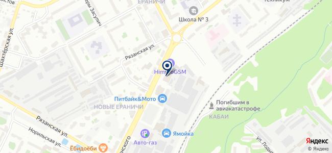 Магазин печей и дымоходов на карте