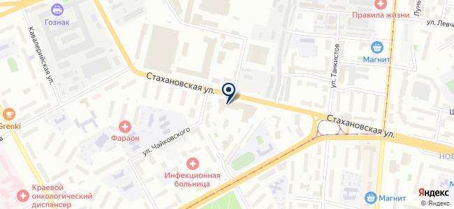 БизнесМарк на карте