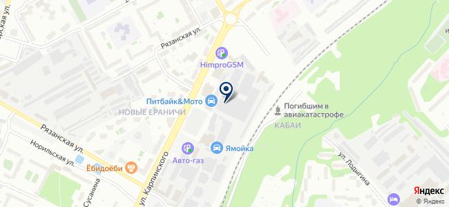Контур ОВК на карте
