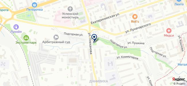 Вариант, ООО на карте