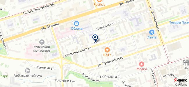 РОСИНВЕСТ на карте