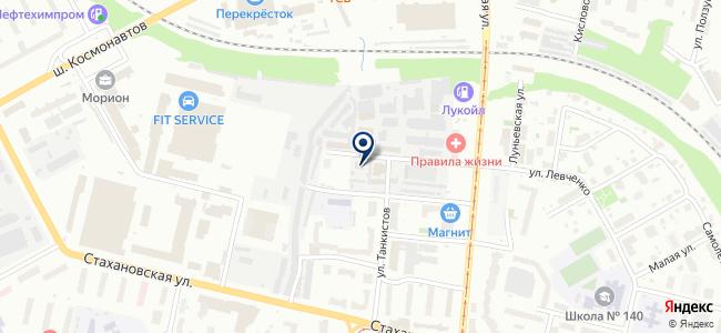 Интелком на карте