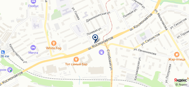 Электроконтакт на карте
