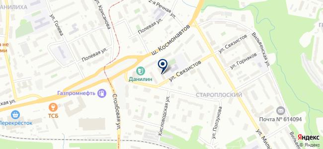 Диэлектрик на карте
