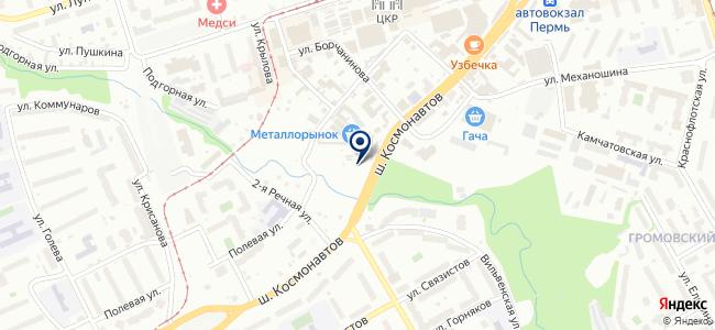 Тех-Электро-Пермь на карте