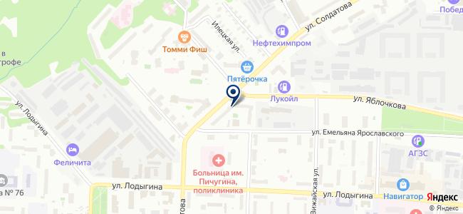Электротехническая компания, ЗАО на карте