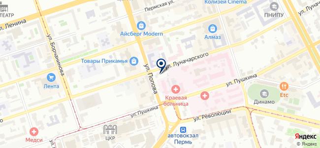 Уральская торговая компания, ООО на карте