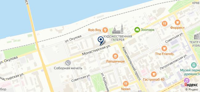 ЭВОСТРИМ-Пермь на карте