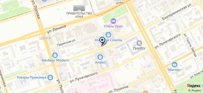 ИВЦ на карте