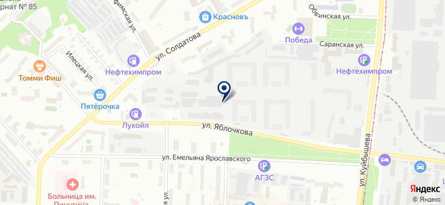 АВТО КАРЛИНК на карте