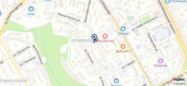 Энэко на карте
