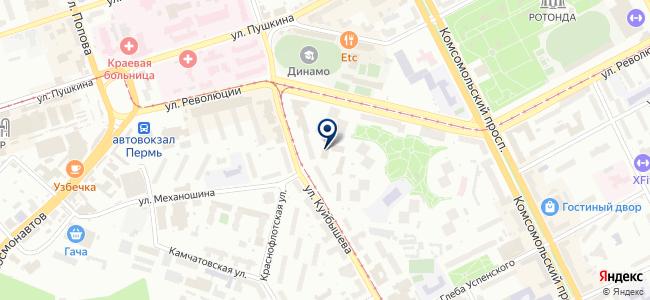 Гарант-Сервис-Пермь на карте