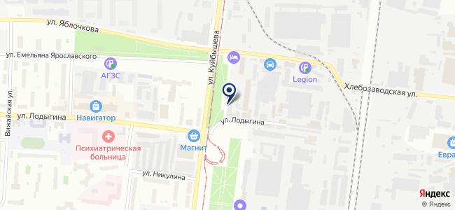 Ювис на карте