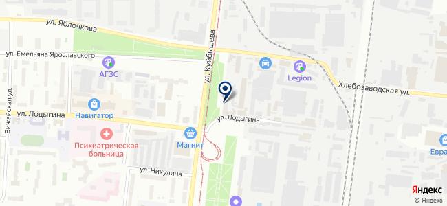 Калуга Астрал, ЗАО на карте