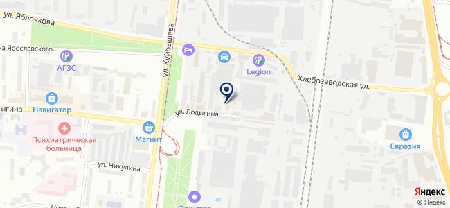 ЭДС-Пермь на карте