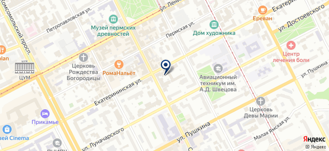 Энергопродукт на карте