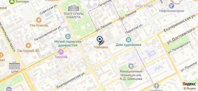 Окуляр на карте