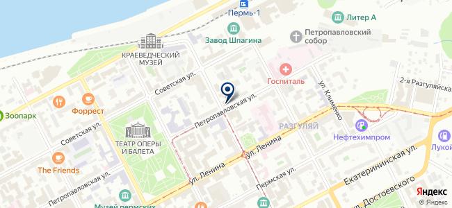 Электронные системы контроля, ЗАО на карте