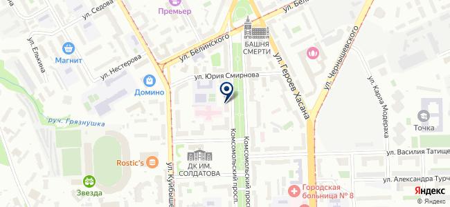 Elipso на карте