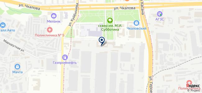 Редуктор-ПМ на карте