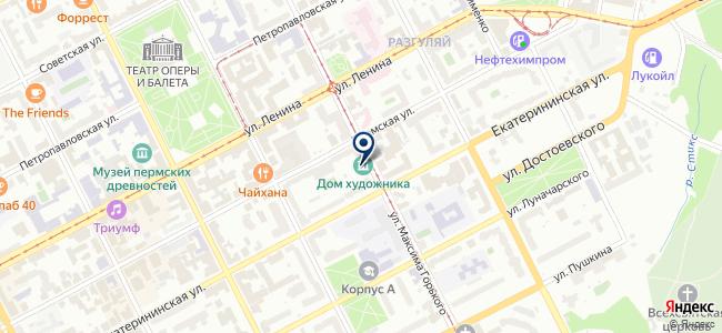 Альтаир-про на карте