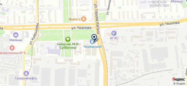 Электросвет на карте