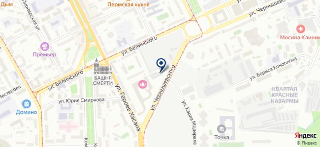 Амкар-Авто на карте