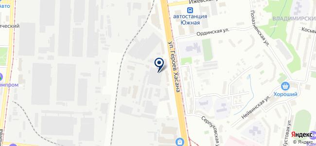 Ависта-Трейд на карте