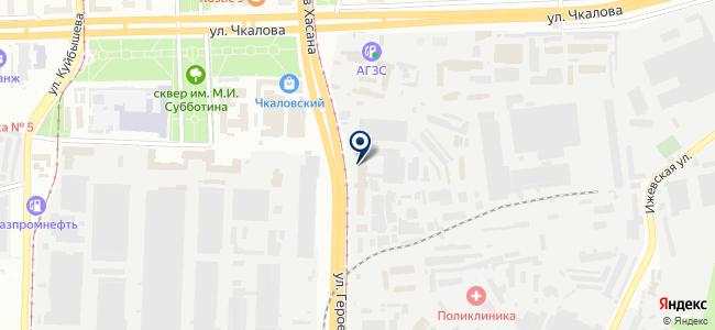 Куб, ООО на карте